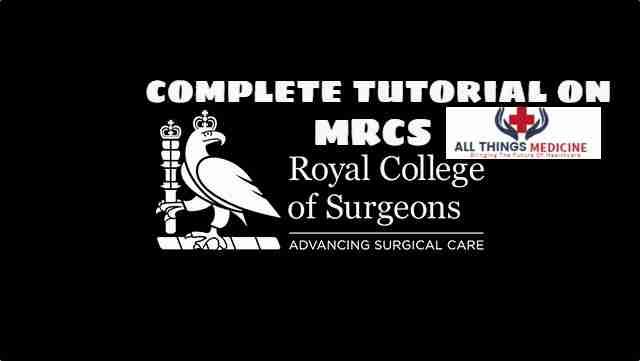 Complete Tutorial on MRCS