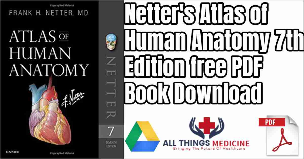 Netter\'s Atlas Anatomy of Human 7th edition free pdf book download