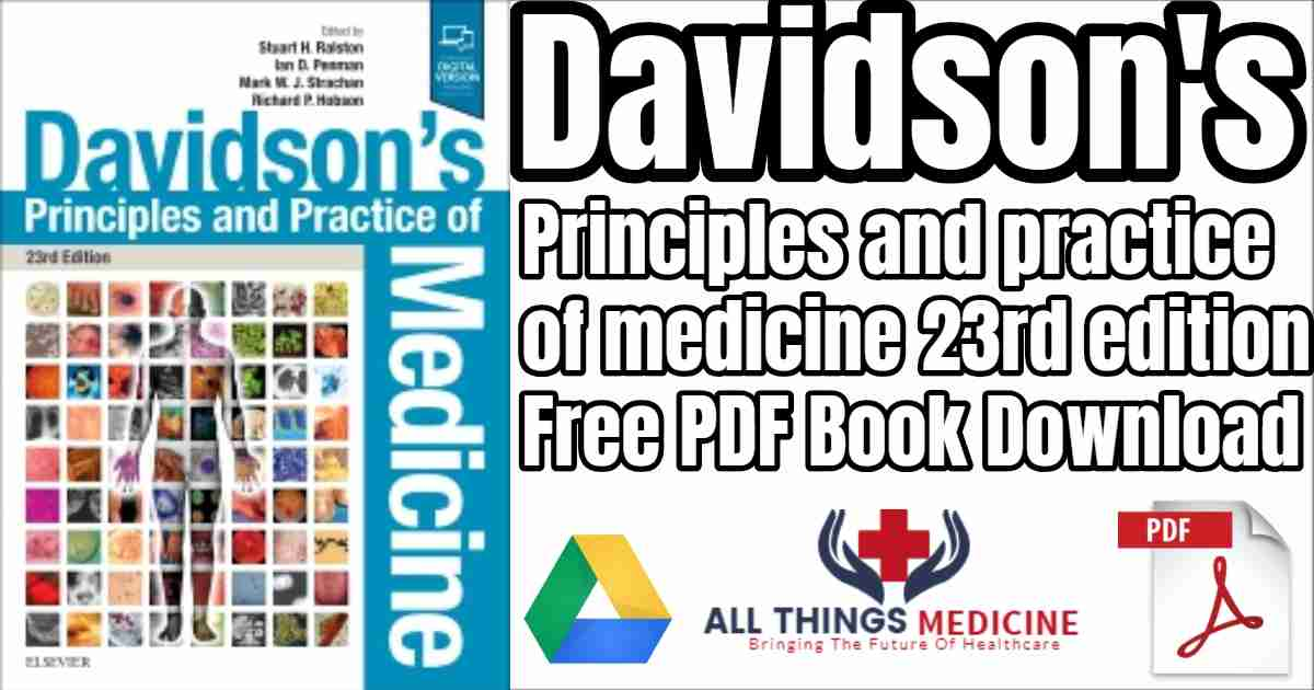 Davidson\'s medicine, practice and principles 23rd edition free pdf ...