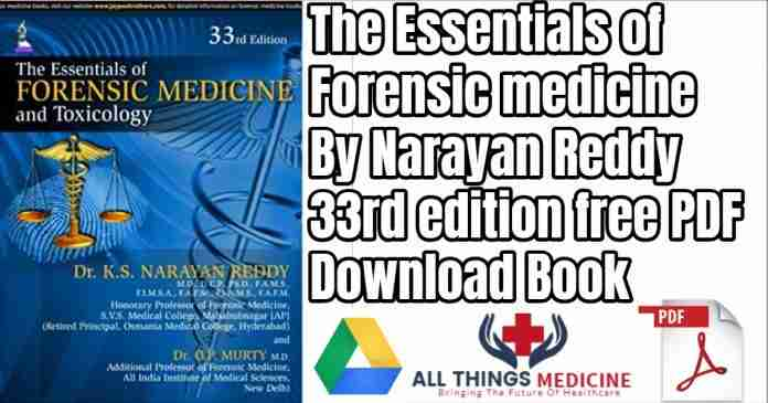 essentials of forensic medicine