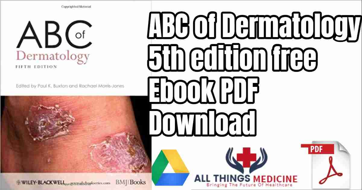 ABC of Dermatology 5th edition free PDF download ebook