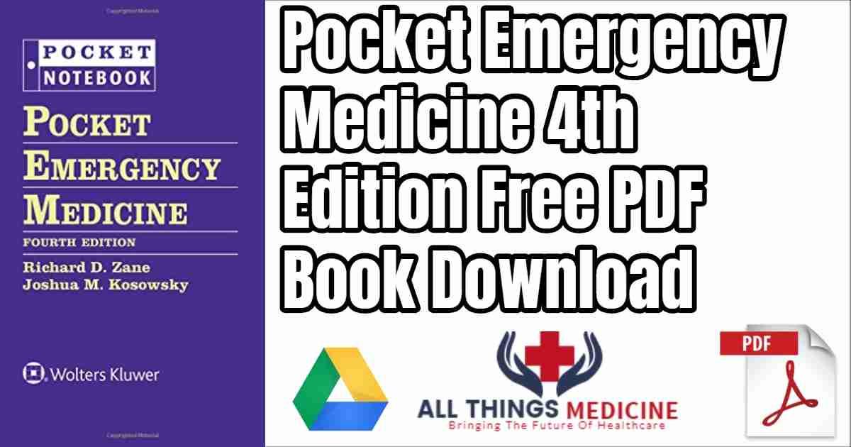 Pocket Emergency Medicine 4th edition Free PDF Book