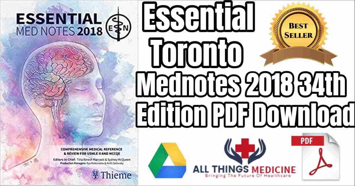 Toronto Notes 2018 Pdf Download Essential Mednotes 34th Edition Pdf