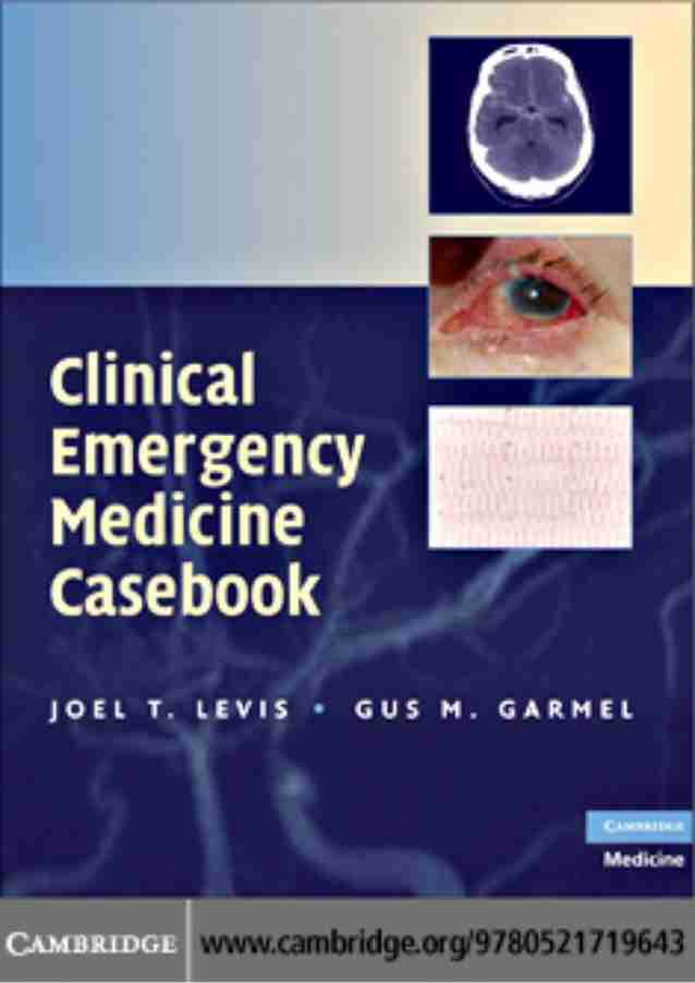 Clinical emergency medicine casebook pdf