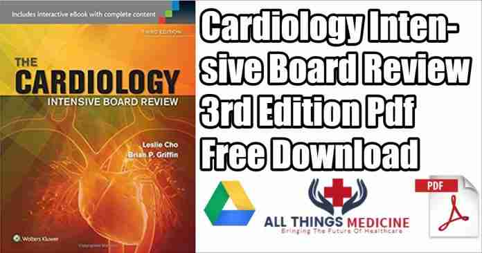 Cardiology intensive board review pdf