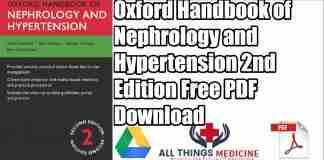 Oxford Handbook of Nephrology and Hypertension PDF 2nd Edition