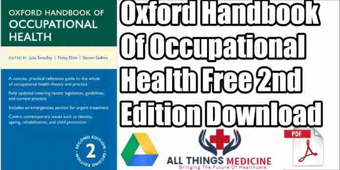 Oxford handbook of Occupational Health PDF 2nd Edition