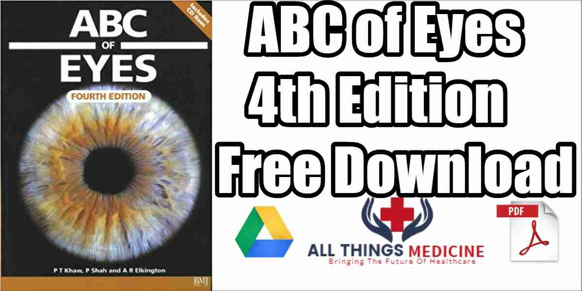 ABC of Eyes PDF 4th Edition Free Download [Direct Link]