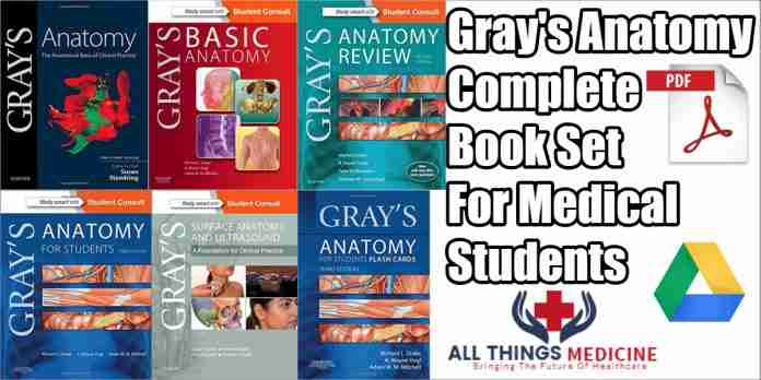 gray's anatomy complete book set