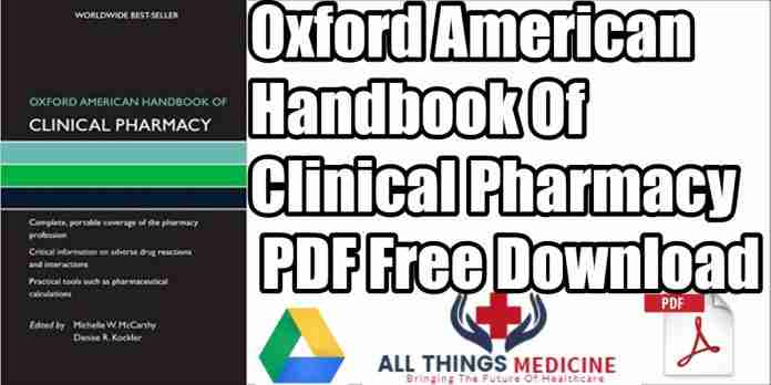 oxford american handbook of clinical pharmacy pdf
