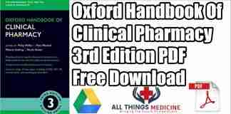 oxford handbook of clinical pharmacy pdf