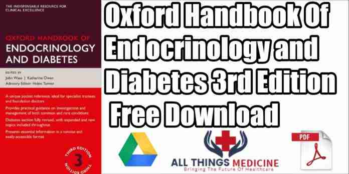 oxford handbook of endocrinology and diabetes pdf