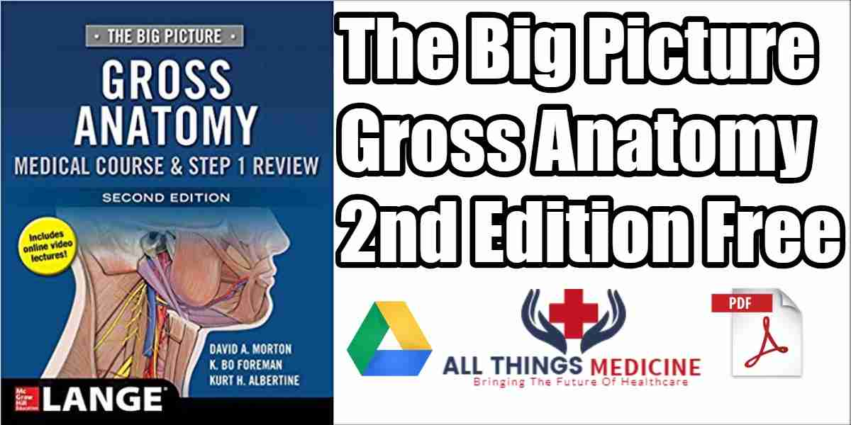 The Big Picture Gross Anatomy Pdf 2nd Edition Free Download