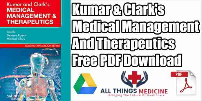 kumar-&-Clark's-medical-management-and-therapeutics-pdf