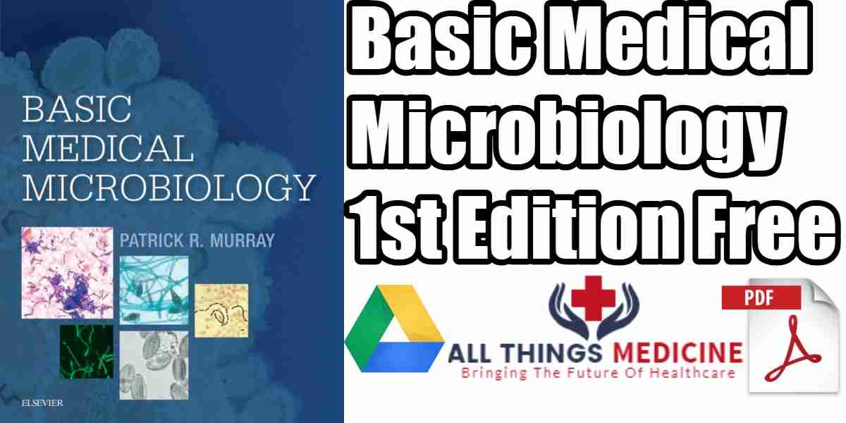Basic Medical Microbiology PDF 1st Edition Free Download