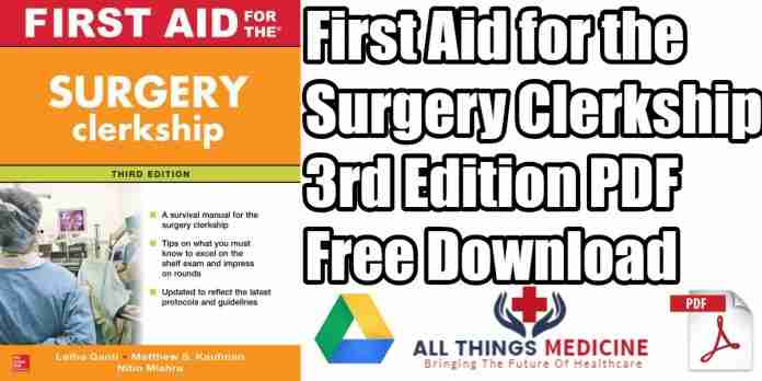 first-aid-for-the-surgery-clerkship,-third-edition-pdf