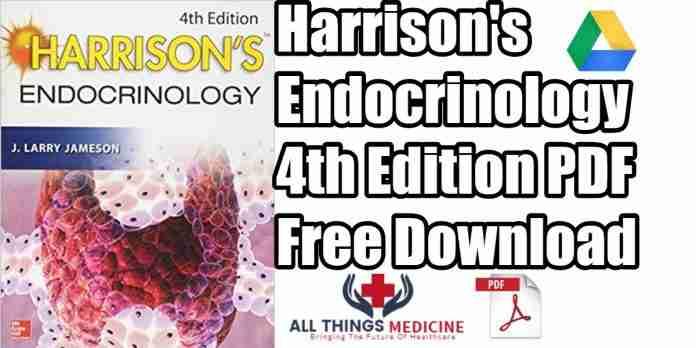 Harrison's-endocrinology-4th-edition-pdf