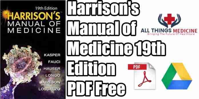 Harrison's-manual-of-medicine-19th-edition-pdf
